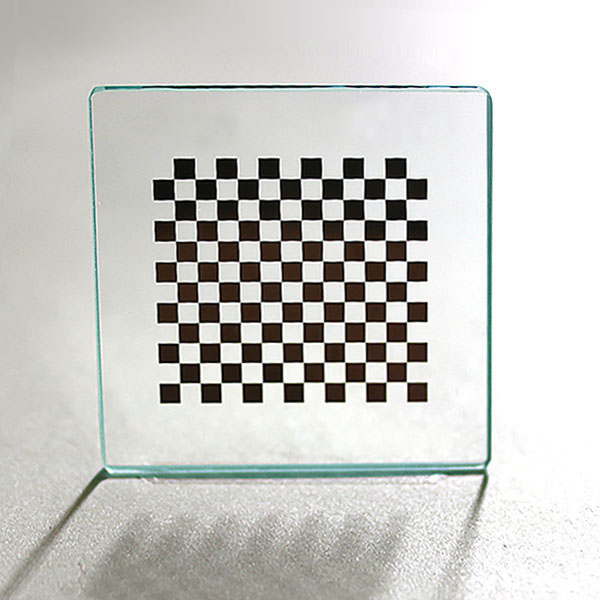 OpenCV Compatible Series--chrome on glass calibration target